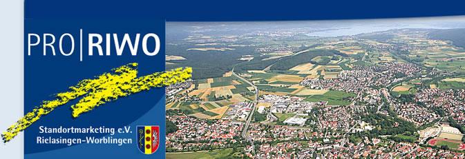Banner PRO|RIWO Standortmarketing e.V. Entwurf: GRUPPE DREI GmbH.