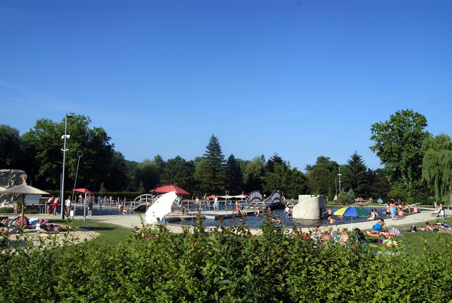 Das Naturbad Aachtal in Worblingen eröffnet die Badesaison 2017 am 1. Mai.