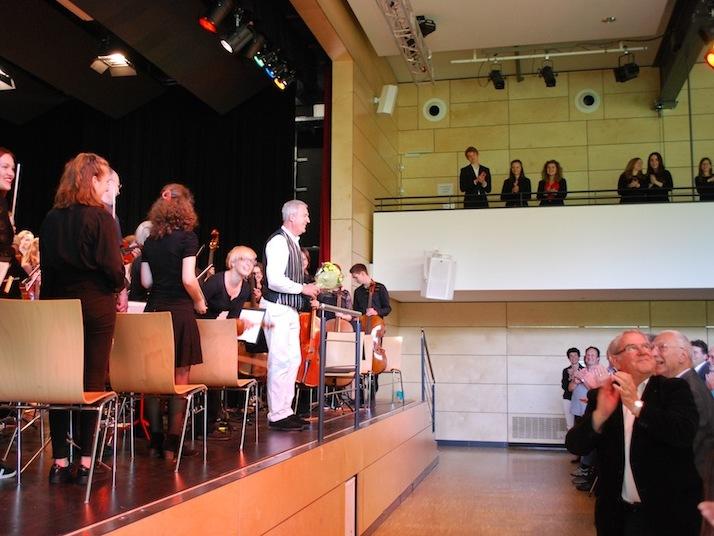 Ein Geschenk an die Mütter war das gelungene Konzert des Instrumentalvereins am Muttertag. swb-Bild: dh