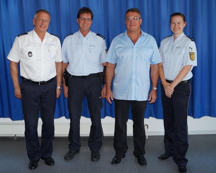 Amtswechsel beim Polizeiposten Rielasingen-Worblingen