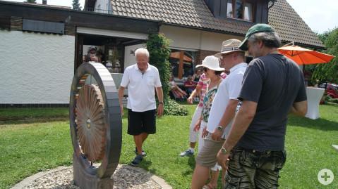 Skulpturengarten von Helmut Haitz