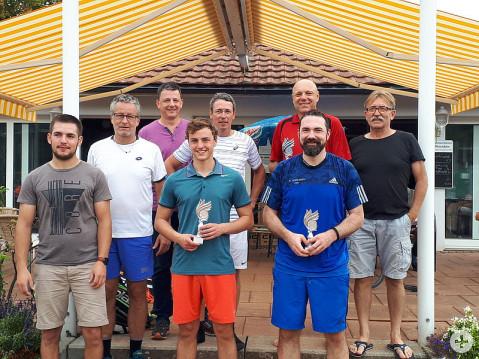 Die Finalisten der Hegau Meisterschaften im Tennis 2018. swb-Bild: Tennis Hegau