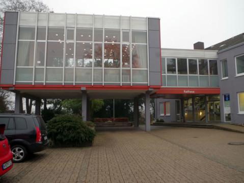 Blick auf den Ratssaal im Rathaus von Rielasingen-Worblingen. Quelle: Singener Wochenblatt