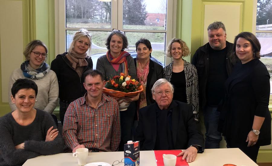 Verabschiedung von Frau Franziska Menzel im Juca60.