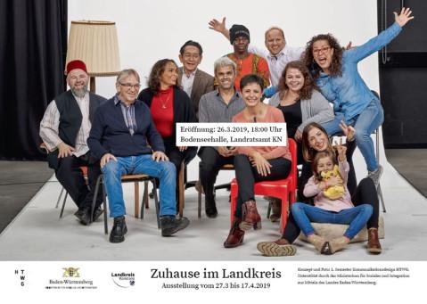 Kampagne Zuhause im Landkreis.
