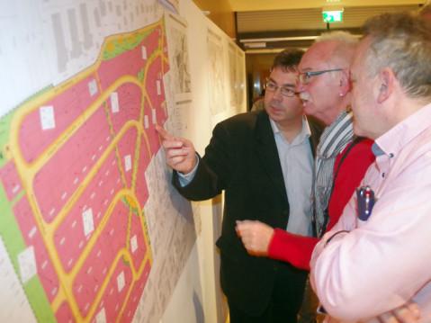 """Das Baugebiet """"Aufgehender"""" wurde in der Bürgerversammlung 2017 der Bevölkerung vorgestellt. Die Grundstücksverhandlungen verlaufen jedoch sehr zäh. swb-Bild: of"""