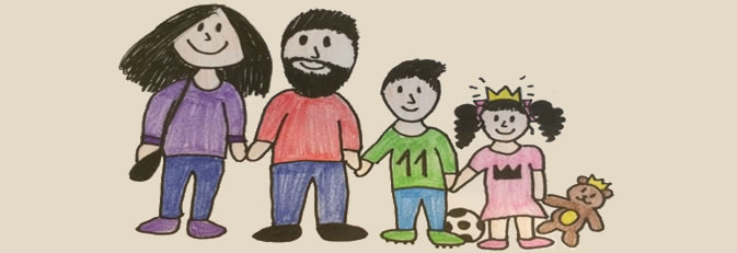 Banner Familienberatung Kinderhäuser.