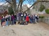 Schüleraustausch mit Nogent-sur-Seine. Besuch auf der Burgruine Hohentwiel.