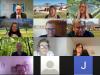 Screenshot (Ausschnitt) der Videokonferenz beim Ortsverband Rielasingen-Worblingen der Grünen.