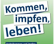 Impfkampagne Landkreis Konstanz - Kommen, impfen, leben !