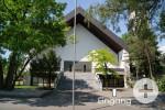 Vorderansicht der Kirche St. Bartholomäus Rielasingen.