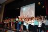 Abschluss mit allen Akteuren auf der Bühne der Talwiesenfesthalle.