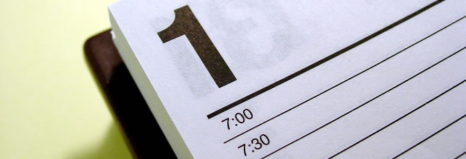 Kalenderblatt Kalender (Quelle: morguefile.com)