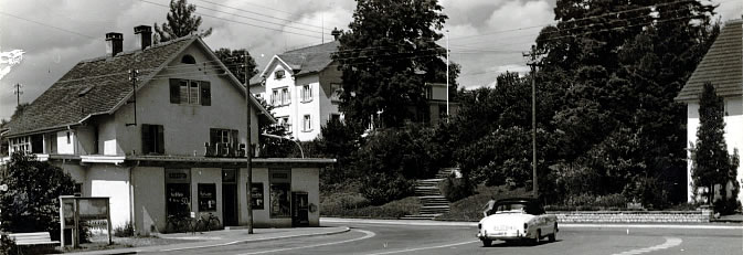 Lindenplatz im Jahr 1968.