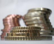 Gestapelte Euromünzen. Quelle: www.morguefile.com