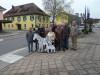 Radio Sieben zu Besuch in Rielasingen-Worblingen beim Interview mit dem Ortsseniorenrat, der mit seiner Zebraaktion am 11.11.2012 für große Aufmerksamkeit sorgte. Foto: Ortsseniorenrat