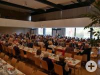 Seniorennachmittag 2018 im Festsaal der Talwiesenhallen.