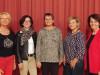 Bei der Jahreshauptversammlung der Frauengemeinschaft St. Nikolaus: Brigitte Gerber, Sonja Schnurr, Angelika Dittel, Marion Labelli, Renate Scheuring, (Conny Klotz und Ulrike Brixner sind leider nicht anwesend). swb-Bild: Verein