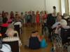 Singschüler der Scheffelschule in St. Verna. swb-Bild: JMS