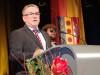 Ein etwas ruhigeres Jahr konnte Bürgermeister Baumert noch zum Neujahrsempfang ankündigen, doch schon bald steht wieder ein strammes Programm vor dem Gemeinderat. swb-Bild: of/ Archiv