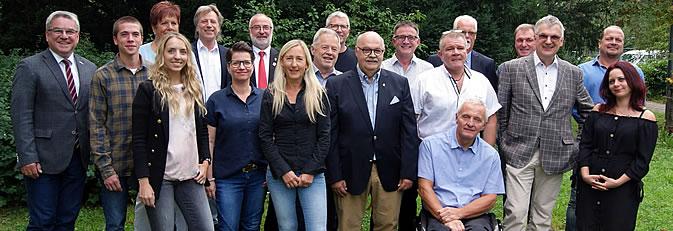 Banner neuer Gemeinderat ab 2019.
