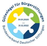 Gütesiegel des Arbeitskreises Bürgerstiftungen vom Bundesverband Deutscher Stiftungen.