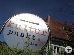 Schild vor dem Kulturpunkt-Arlen.