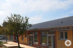 Kinderhaus Rosenegg Außenansicht Erweitungsbau 2014.
