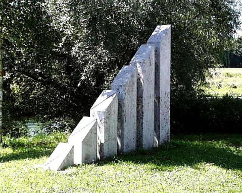 Europa Skulptur von Helmut Grimm.