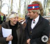 Dagi und Narrenpräsident Hespeler