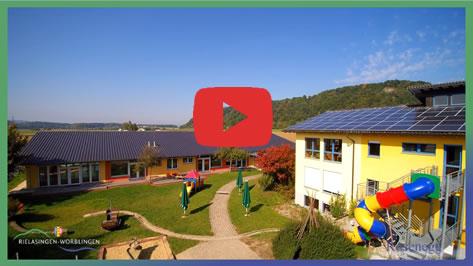 Bild aus dem Imagefilm über das Kinderhaus Rosenegg in Rielasingen.