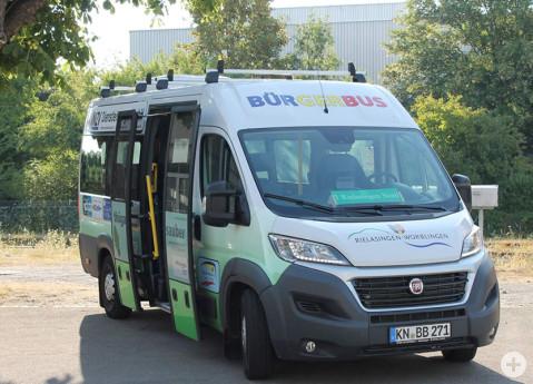 Einer der beiden Bürgerbusse Rielasingen-Worblingen.