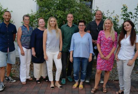 Die verabschiedeten und neu verpflichteten Gemeinderäte in Rielasingen-Worblingen.