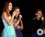Gesangseinlage bei der Abschlussfeier der Ten-Brink-Gemeinschaftsschule. Foto: Tobias Röhling