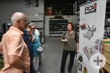 Dr. Alexandra Grandpierre, Geschäftsführerin der Firma POK, zeigte den Gästen die Produktvielfalt des Familienunternehmens in Nogent-sur-Seine