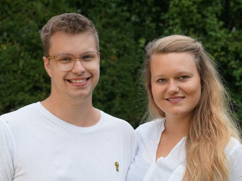 Saskia und Josef John sind die neuen Gemeindereferenten der Johannesgemeinde in Rielasingen-Worblingen. Sie werden am Sonntag im Gottesdienst vorgestellt. swb-Bild: Werner