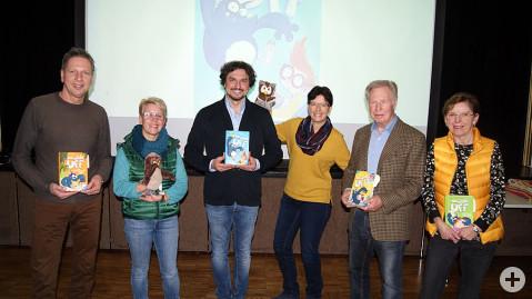 Die Organisatoren freuten sich über den schönen Anklang des gemeinsamen Leseprojektes für die Kinder in der Gemeinde.