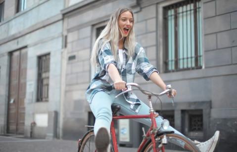 Radfahren macht Spaß. Quelle: pexels.com